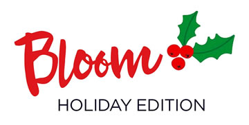 Bloom holiday logo
